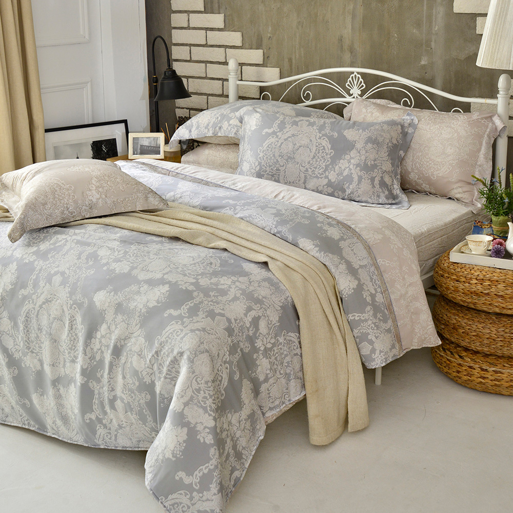 英國Abelia 薩卡爾 特大木漿纖維四件式兩用被床包組