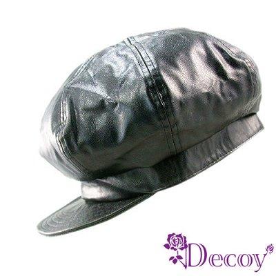 Decoy-野性呼喚-黑色皮革帽