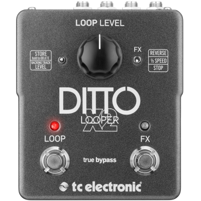 tc electronic Ditto X2 Looper 效果器