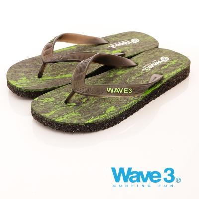 【WAVE3男款】渲染人字夾腳拖17101207綠