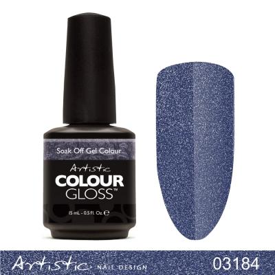 美國大藝術家-03184藍色狂想曲-閃粉