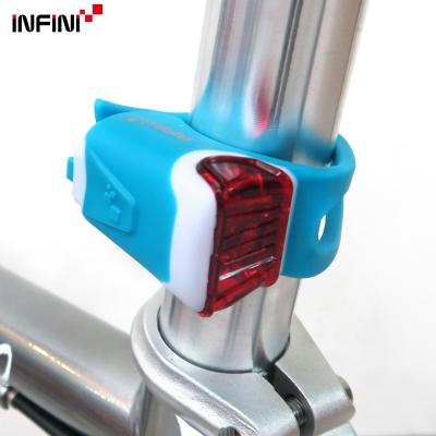 INFINI-ORCA-I-204R-紅光LED鯨魚燈3模式警示後燈-台灣製-藍