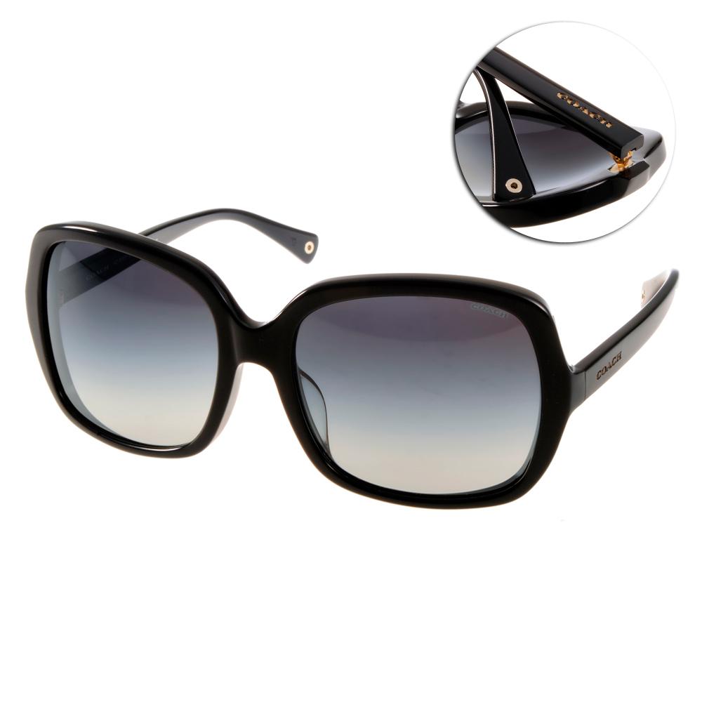 COACH太陽眼鏡時尚百搭款黑COS8091F 500211