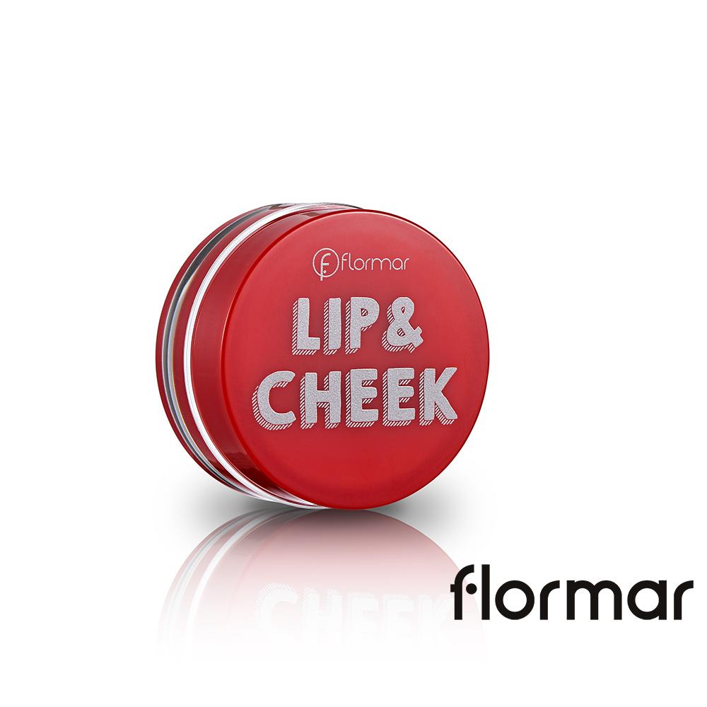 法國Flormar - 唇真血色唇頰兩用霜 #02托斯卡尼艷陽