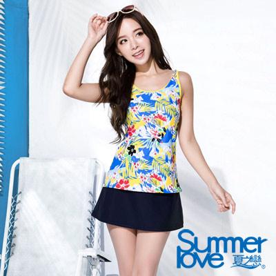 夏之戀SUMMERLOVE 熱帶假期三件式泳衣