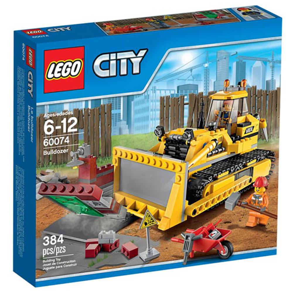 LEGO樂高城市系列60074 推土機(6Y+)