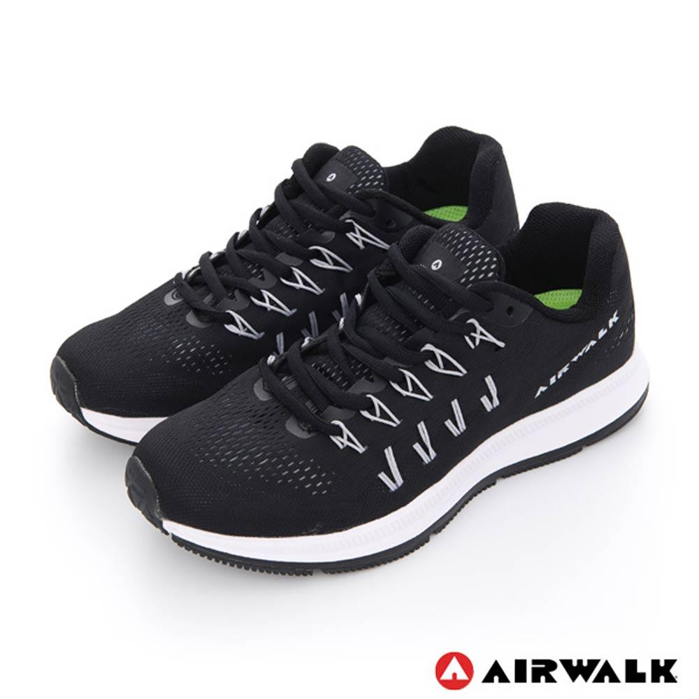 美國 AIRWALK網狀透氣慢跑鞋運動鞋-女款黑