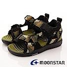 日本月星頂級童鞋 Hi系列機能涼鞋 TW1943軍綠(中小童段)