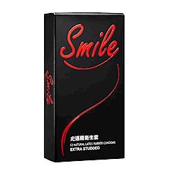 SMILE史邁爾 衛生套保險套 顆粒(12入/盒)