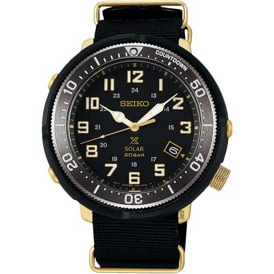 (無卡分期6期)SEIKO Prospex 4R35復古軍風限量錶(SBDJ028J)-44mm