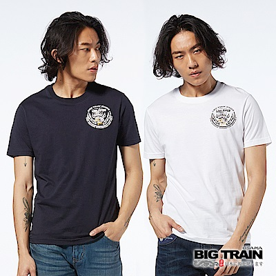 BIG TRAIN 神威醒獅<b>2</b>件包-男-藍白