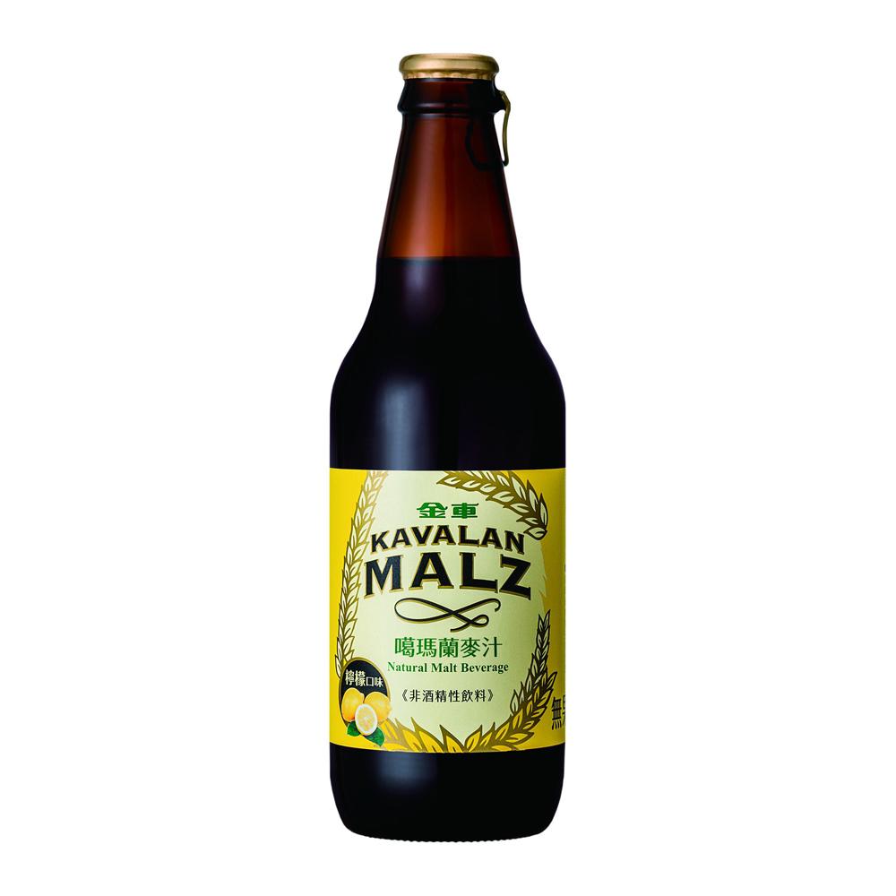 金車噶瑪蘭 麥汁-檸檬風味(330mlx24瓶)