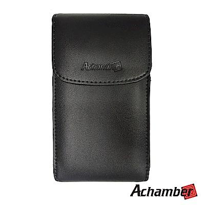 Achamber艾強伯 6.4吋以下通用旋轉腰夾掛腰真皮腰掛皮套