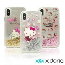 X-doria Hello Kitty iPhone X 保護殼 流光單鑽系列