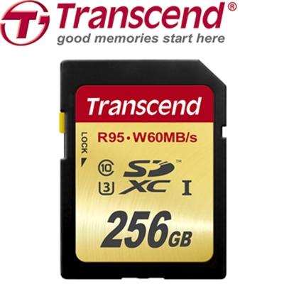 創見 256G UHS-I Class 10(U3)記憶卡