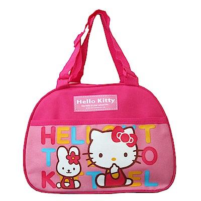 Hello Kitty 可調式午餐便當袋(滿版)