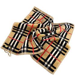 BURBERRY 英國倫敦黑標厚織格紋毛巾