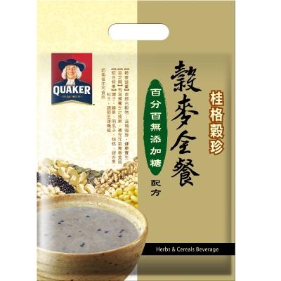 桂格 穀珍穀麥全餐 無添加糖配方(25gx12入)