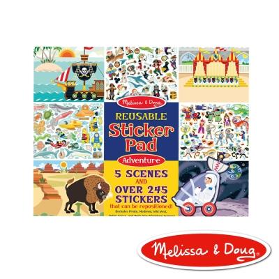 美國瑪莉莎 Melissa & Doug 靜電貼紙收藏簿 - 旅遊冒險