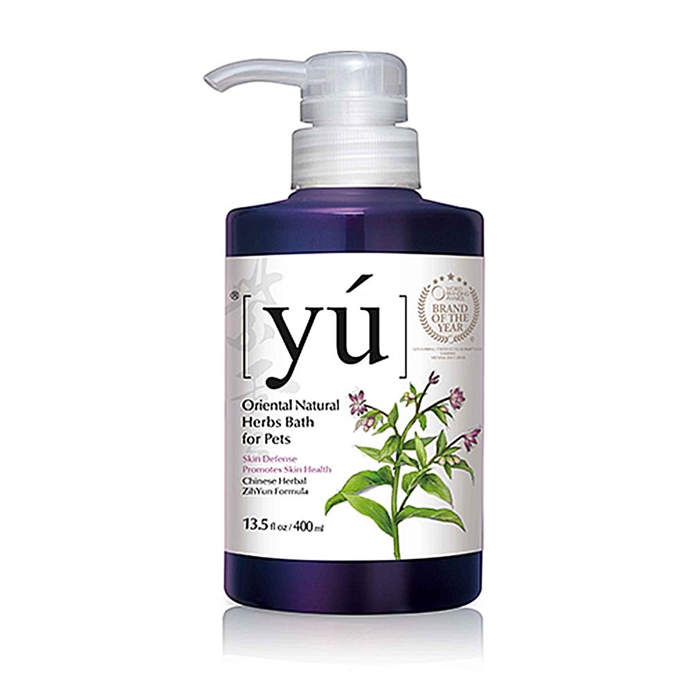 YU 東方森草寵物沐浴乳- 紫雲肌膚療癒 配方400ml