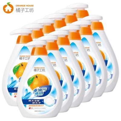 橘子工坊 重油汙碗盤洗滌液500ml x12瓶/箱