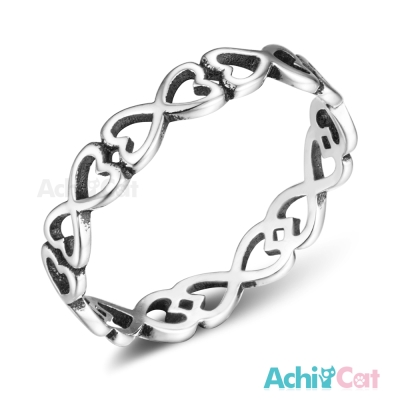 AchiCat 925純銀戒指尾戒 甜蜜無限