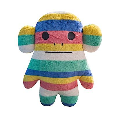 CRAFTHOLIC 宇宙人 療癒彩虹猴寶貝枕