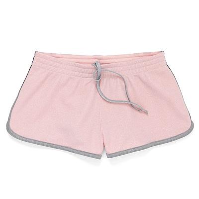 CONVERSE-女休閒短褲10008667-A02-粉紅