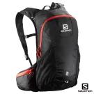 Salomon 水袋背包 TRAIL 20 黑/亮紅