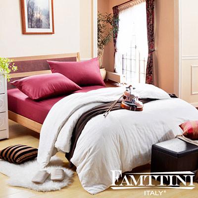 梵蒂尼Famttini-抒情米蘭 頂級單人手工純長纖蠶絲被2.4kg