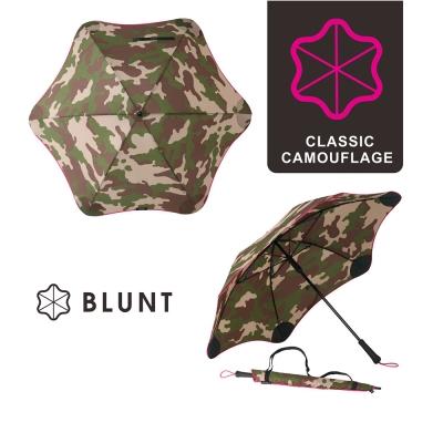 紐西蘭BLUNT- 保蘭特抗強風傘 直傘大號 (迷彩粉色)
