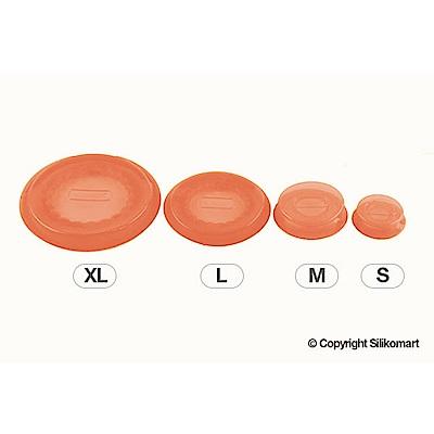義大利製聰明保鮮蓋CAPFLEX七件組-橘色(S+M+L+XL)