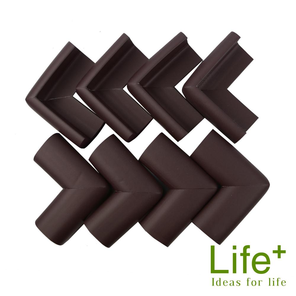 Life Plus 超厚泡棉安全防撞桌角 (咖啡)_快速到貨
