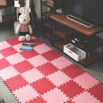 Home Feeling 繽紛30x30巧拼地墊/安全地墊(6色可選)9片/組