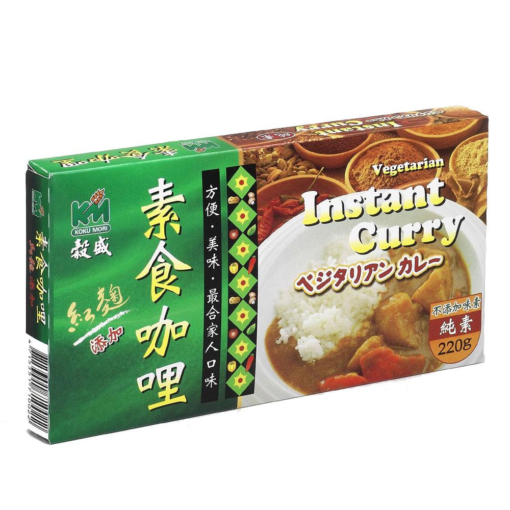 穀盛 速食咖哩純素(220g)