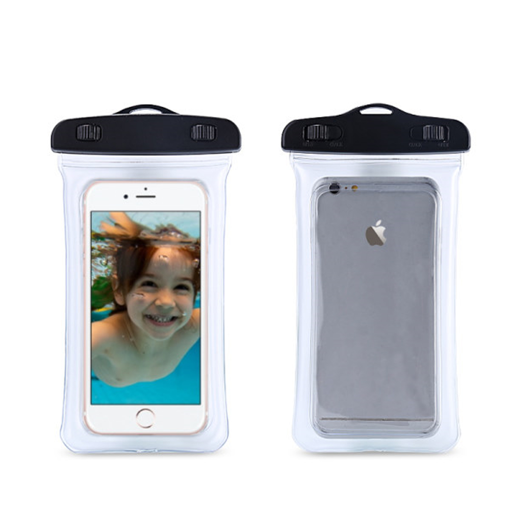 DataStone手機氣囊防水袋/全透明可觸控(氣囊防震型)適6吋以下手機 product image 1