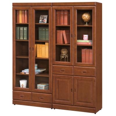 時尚屋 長榮樟木5.2尺書櫃 寬158cm