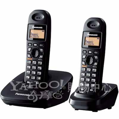Panasonic 國際牌 2.4GHz無線電話 KX-TG3612(經典黑)