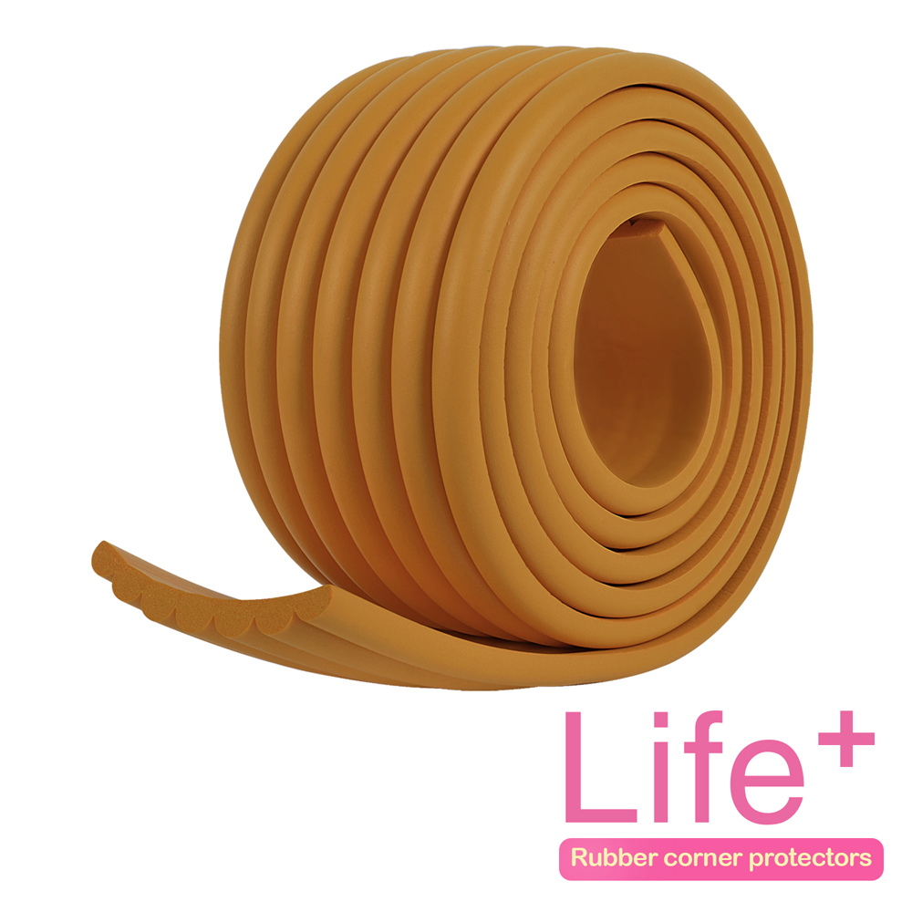 Life Plus 居家防護 DIY萬用加寬防護條(駝色)