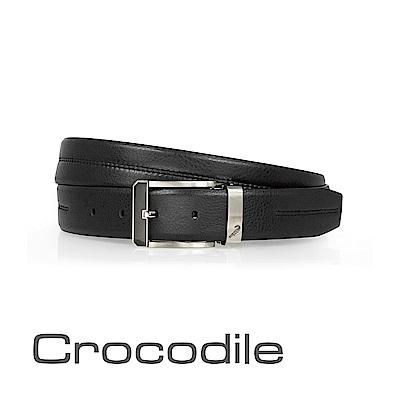Crocodile 歐式穿孔紳士皮帶 0101-40091