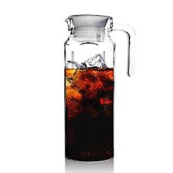 Besos 無鉛玻璃耐熱水壺1000ML(四角瓶)
