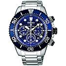 SEIKO精工 Prospex Diver 愛海洋太陽能計時手錶(SSC675P1)