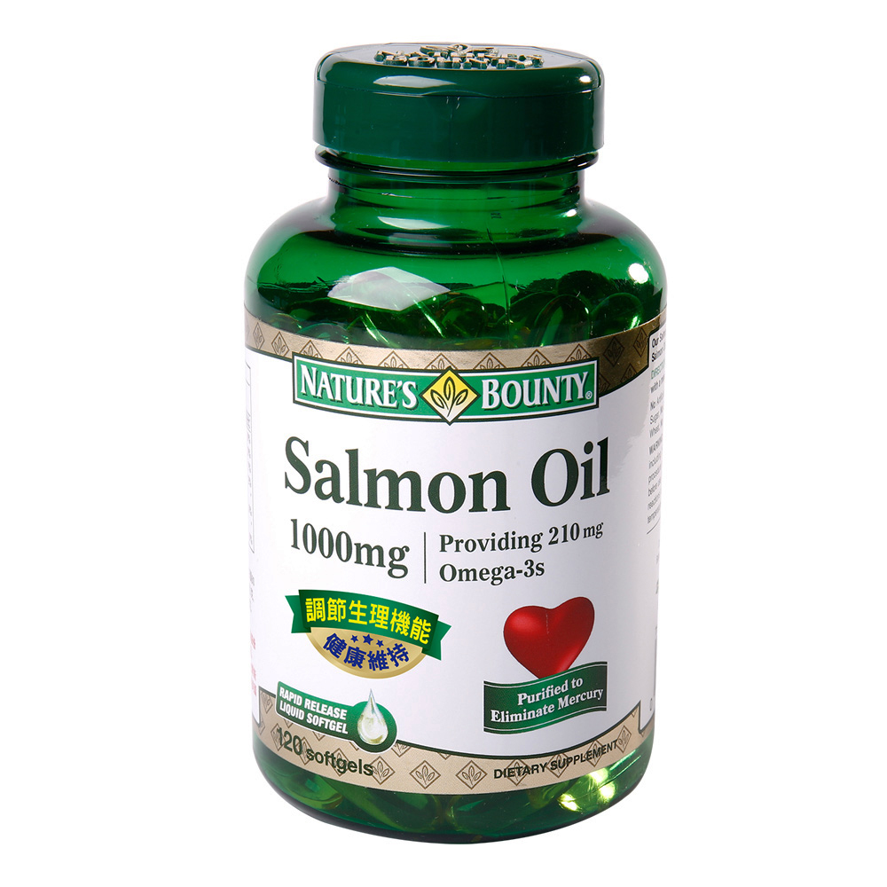 【自然之寶】鮭魚油軟膠囊120顆