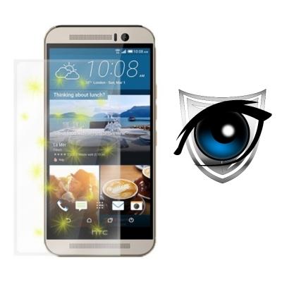 D&A HTC One M9 (5吋)日本9H濾藍光疏油疏水增豔螢幕貼