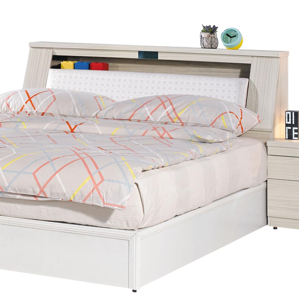 愛比家具 絲緹5尺雙人床頭箱