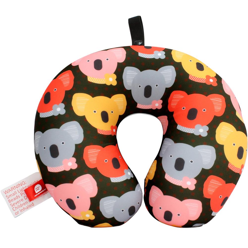 DQ 緩衝顆粒護頸枕(無尾熊)