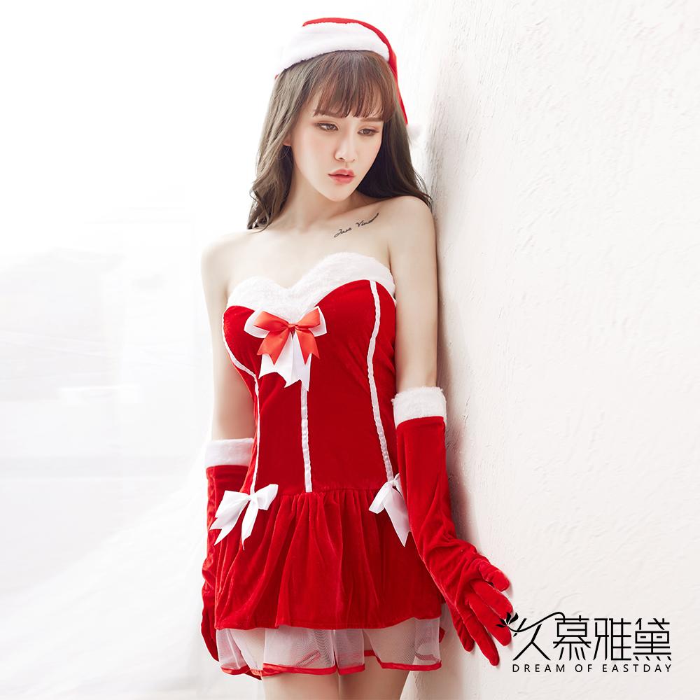 角色扮演 性感聖誕精靈套裝 久慕雅黛