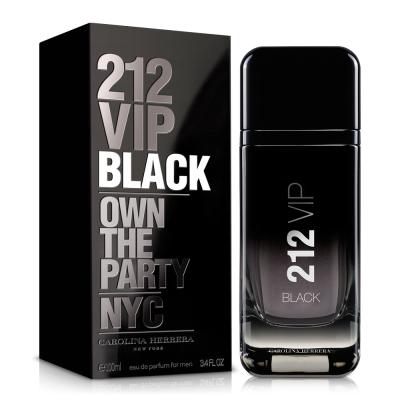 Carolina Herrera 212 VIP BLACK 男性淡香精100ml