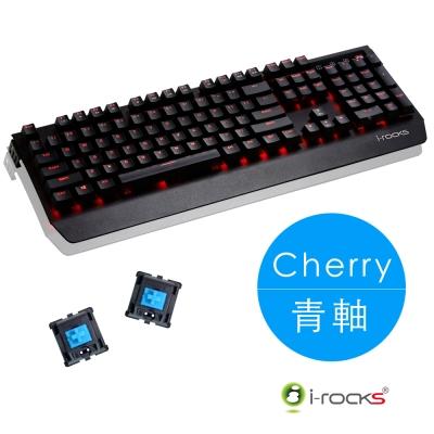 i-Rocks K60M全背光金屬機械式鍵盤-Cherry青軸