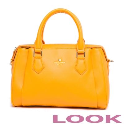 LOOK - 真愛Ruby露比系列 造型手提包-柔情黃